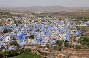 Jodhpur city overview