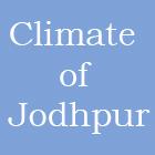 Climate of Jodhpur