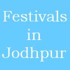 festivals in jodhpur