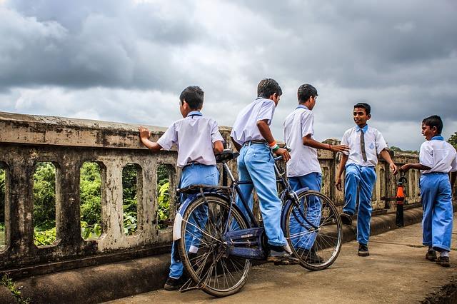 school kids jodhpur