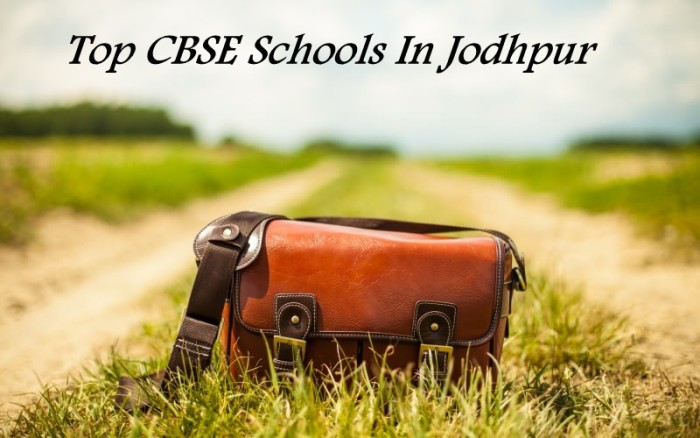 top cbse schools in jodhpur