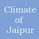 climate of jaipur weather